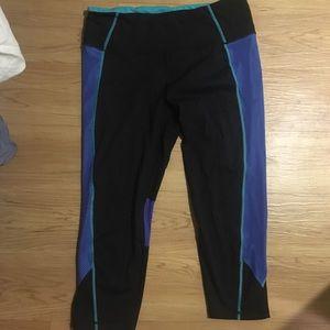 LIGHTLY WORN Runners crop pants